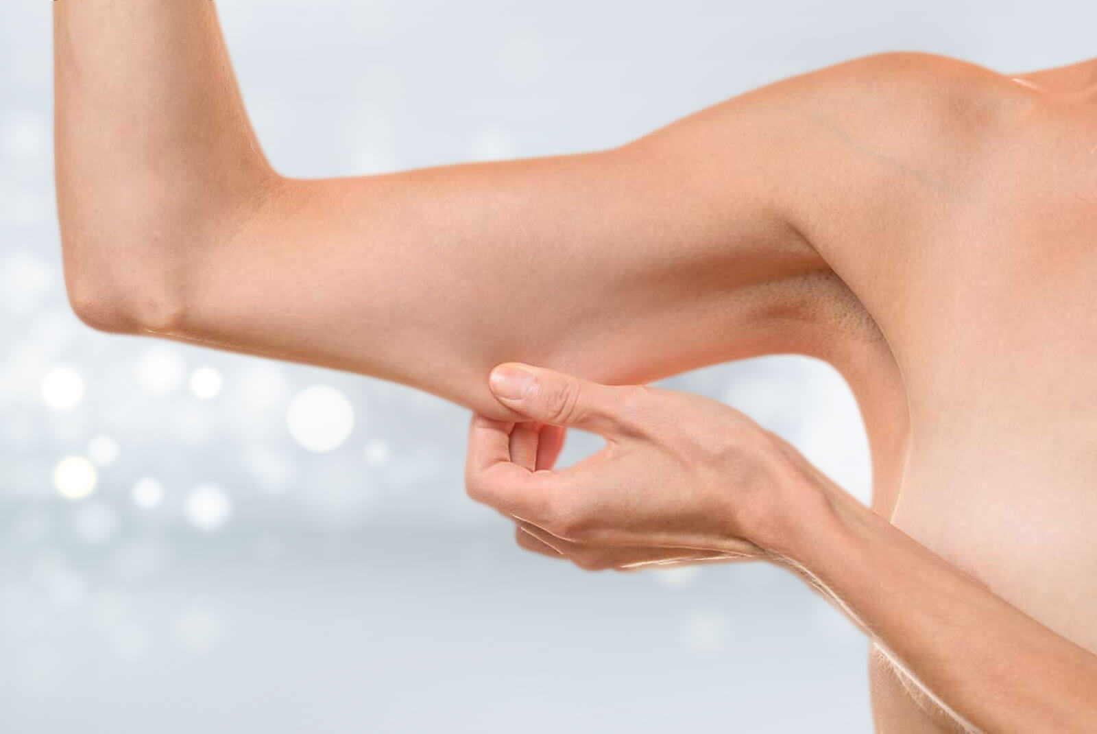 Lifting des bras pour corriger la peau tombante