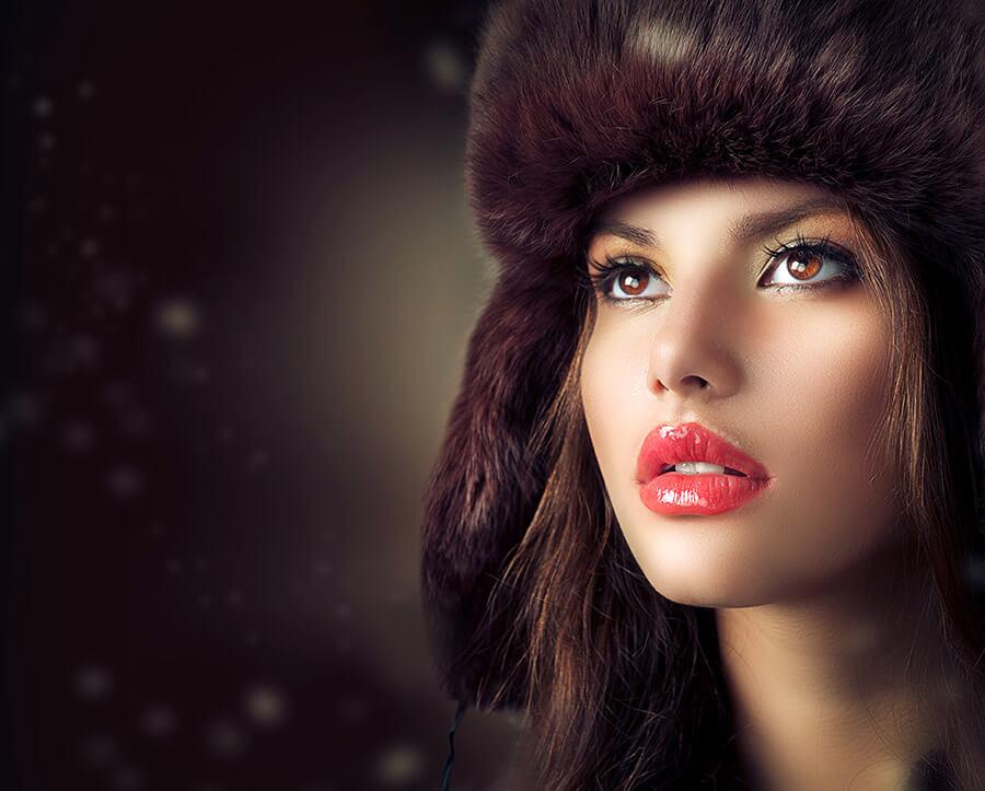Lèvres russes, une augmentation du volume des lèvres